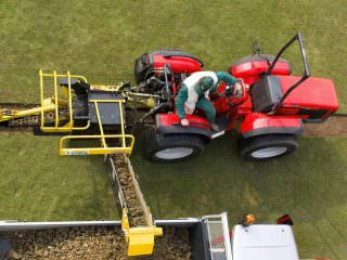 Hire a Sports Turf Trencher
