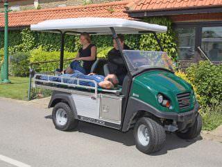 Club Car Utility Ambulance