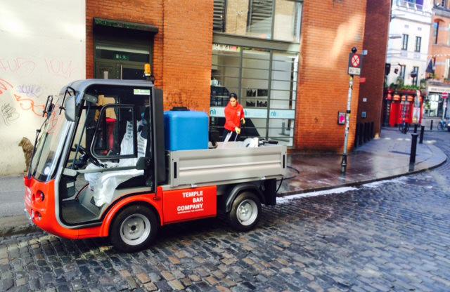 Elcectric Pressure Washer Utility Vehicle