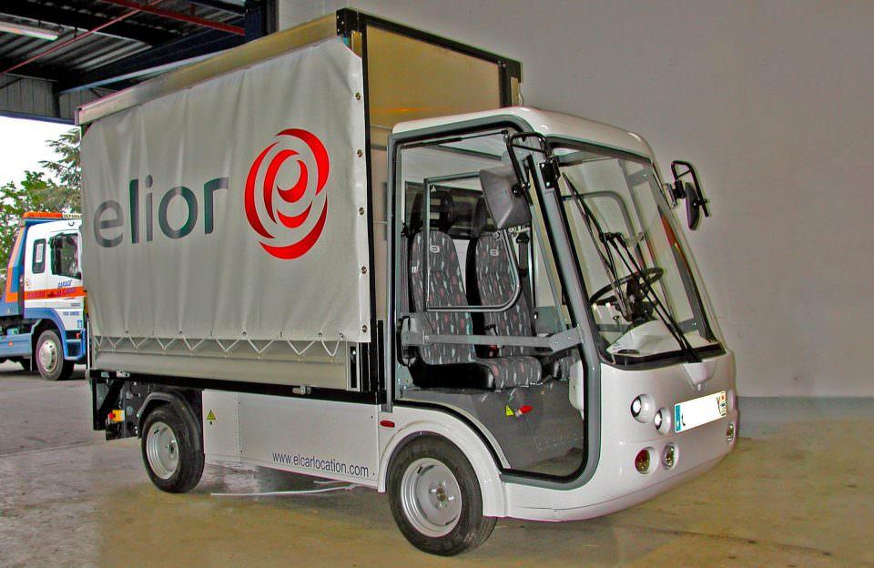 Electric Last Mile Delivery Van