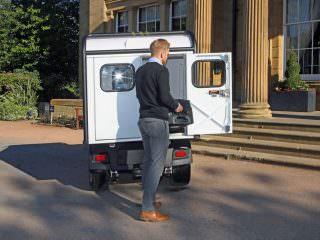 Electric Utility Vehicle Van Box