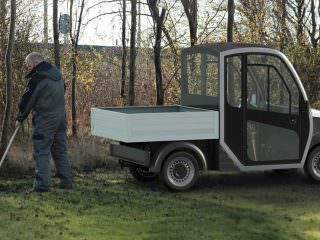 Electric groundskeeping Buggy