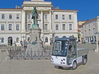 Esagono electric utility vehicle street legal UK