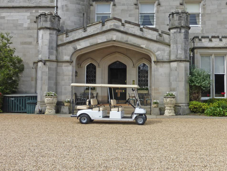Golf Buggy Dundas Castle Edinburgh