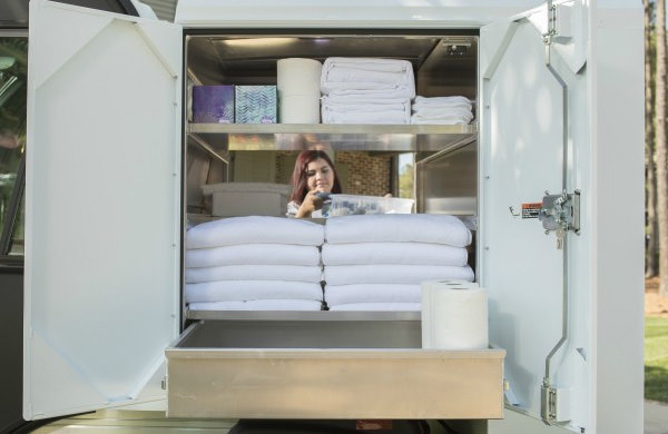 Housekeeping Van Box CLub Car Carryall