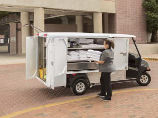 Housekeeping and hospitality electric vehicles