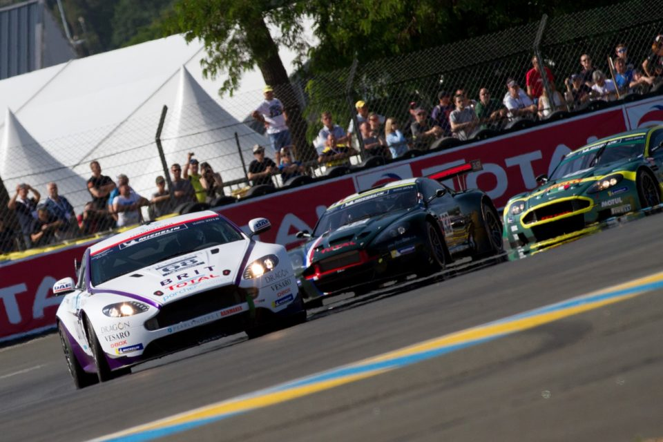Aston Martin Vantage Race Car
