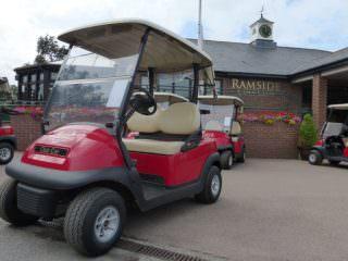 Ramside Hall Golf Buggy